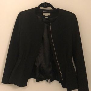 Black Peplum Style Blazer